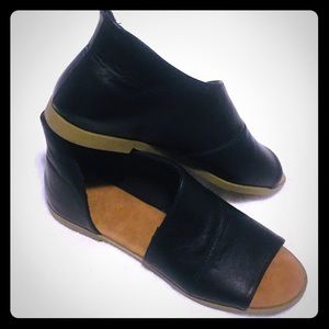 💫Black Bamboo D'Orsay Flats ✨Size 6 1/2💫